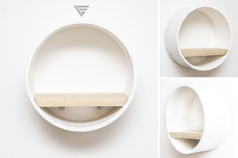 Polka Z Kartonu I Deski Z Palety Gilza Ii Shelves Decor Home Decor