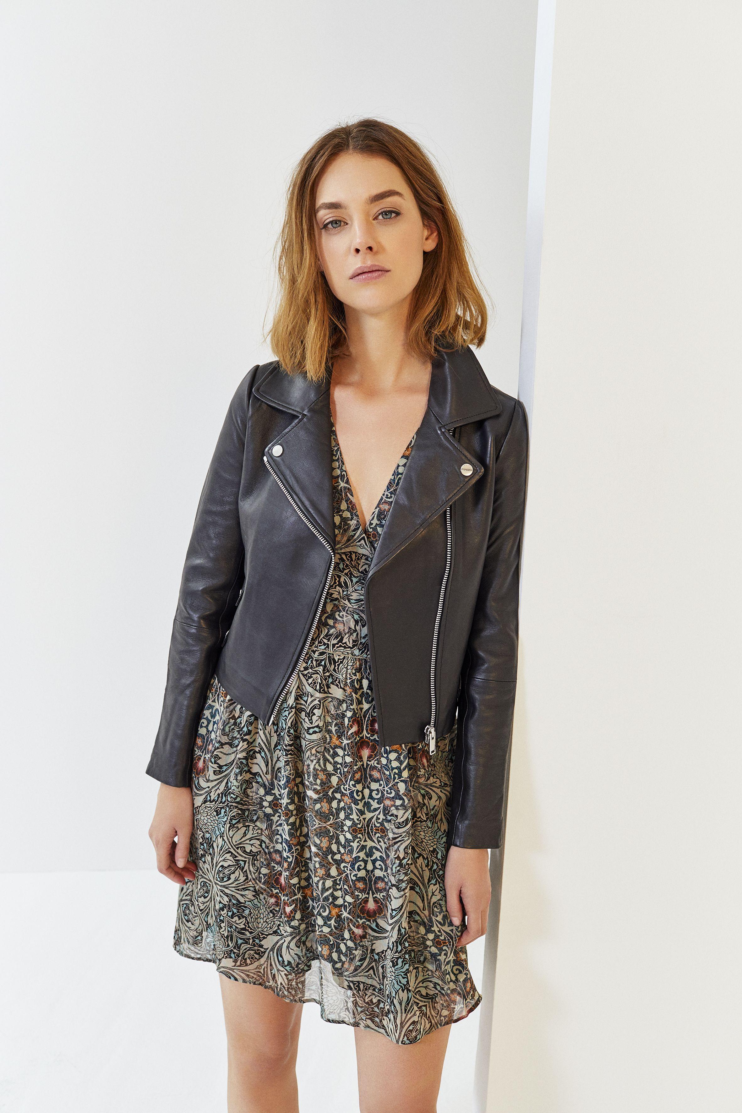 Robe cuir femme 2018