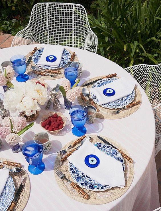 Entertaining with Rebecca de Ravenel Wedding favor table