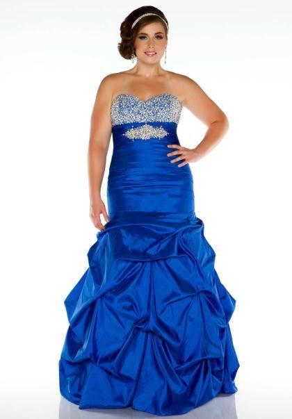 Fabulouss Plus Size 61322F at Prom Dress Shop | Prom Dresses