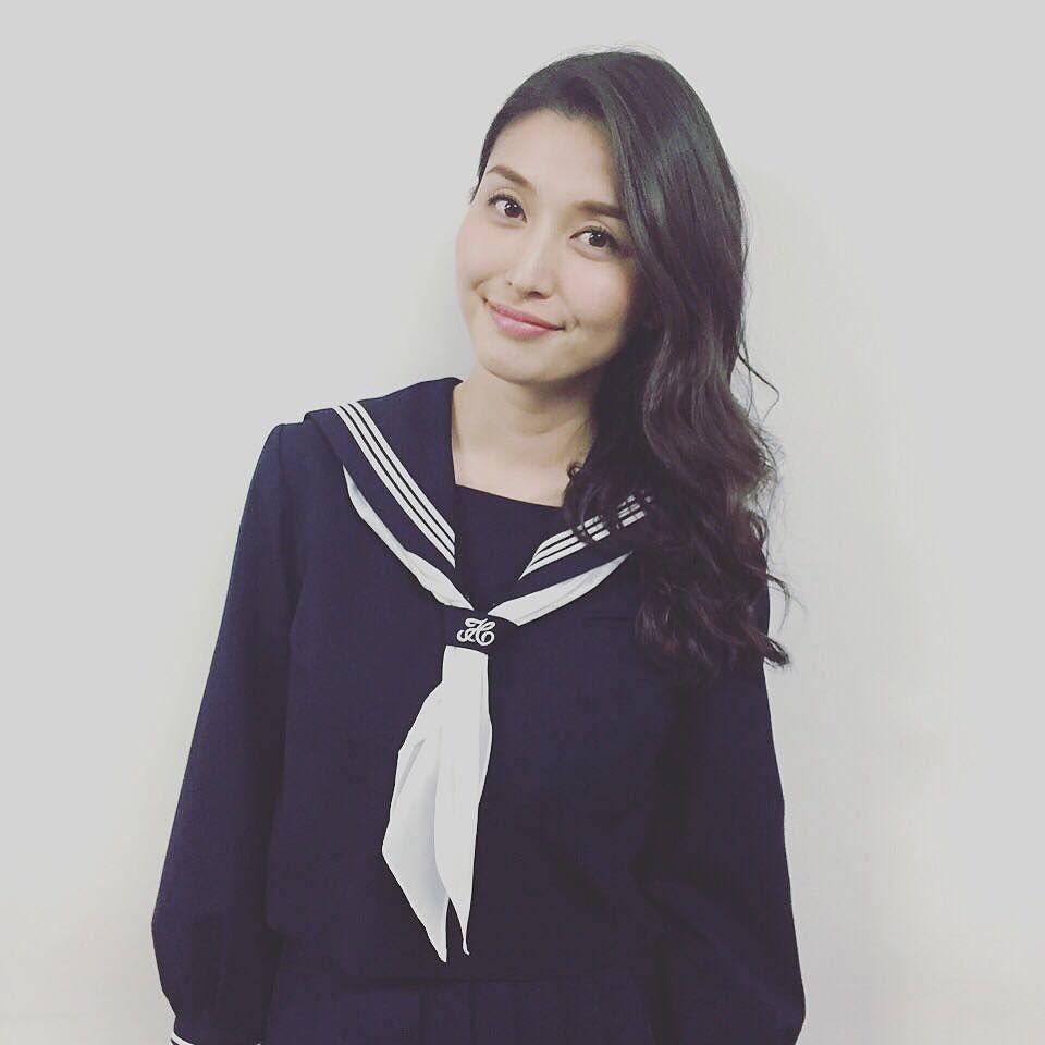「橋本マナミ セーラー服」の画像検索結果