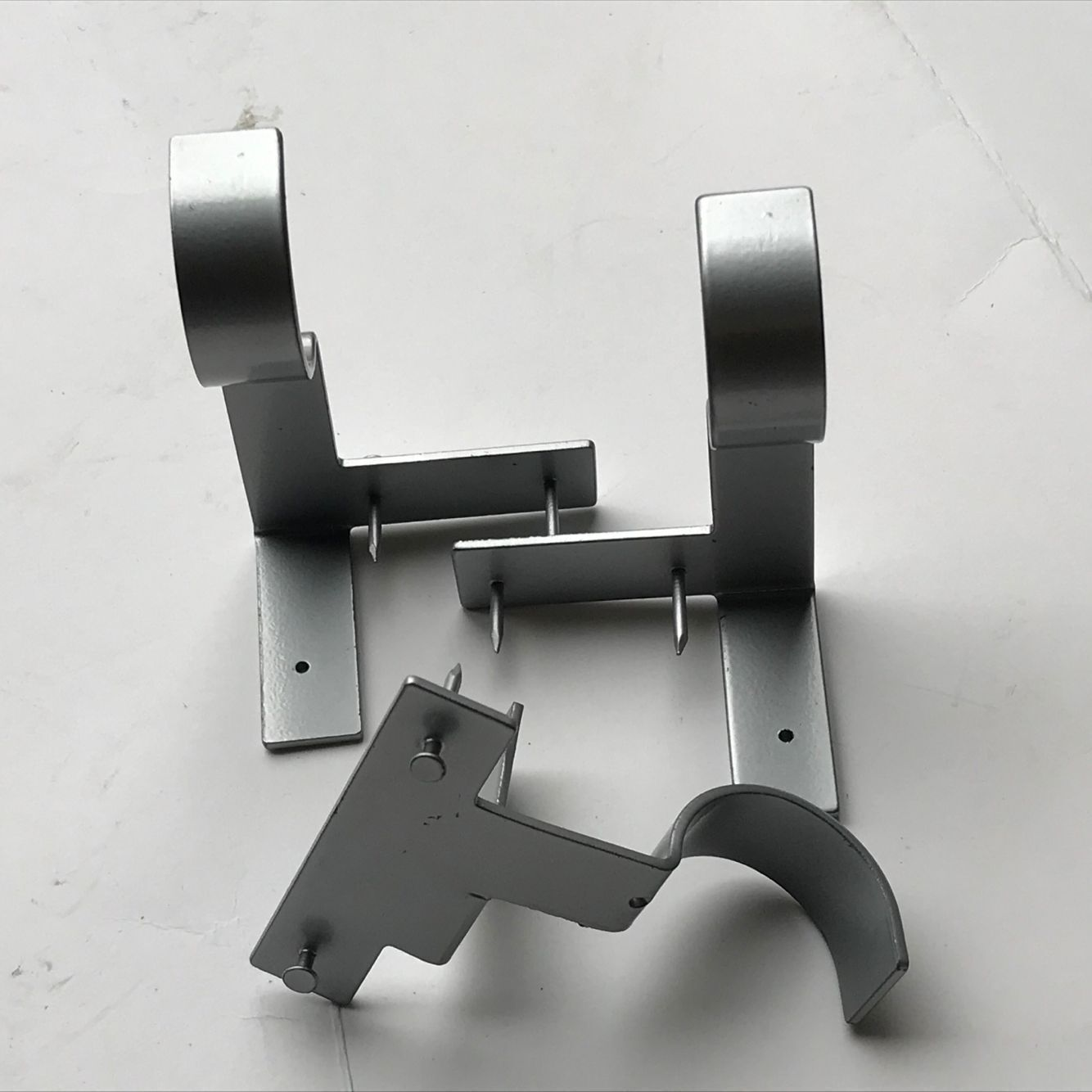 Center Support Curtain Rod Brackets In 2020 Curtain Rods