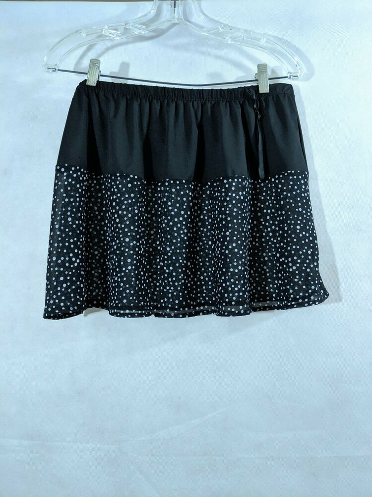 NEW LADIES A LINE FLARED ELASTICATED BACK PULL ON SKIRT *3 PLAIN COLOURS*6 SIZES