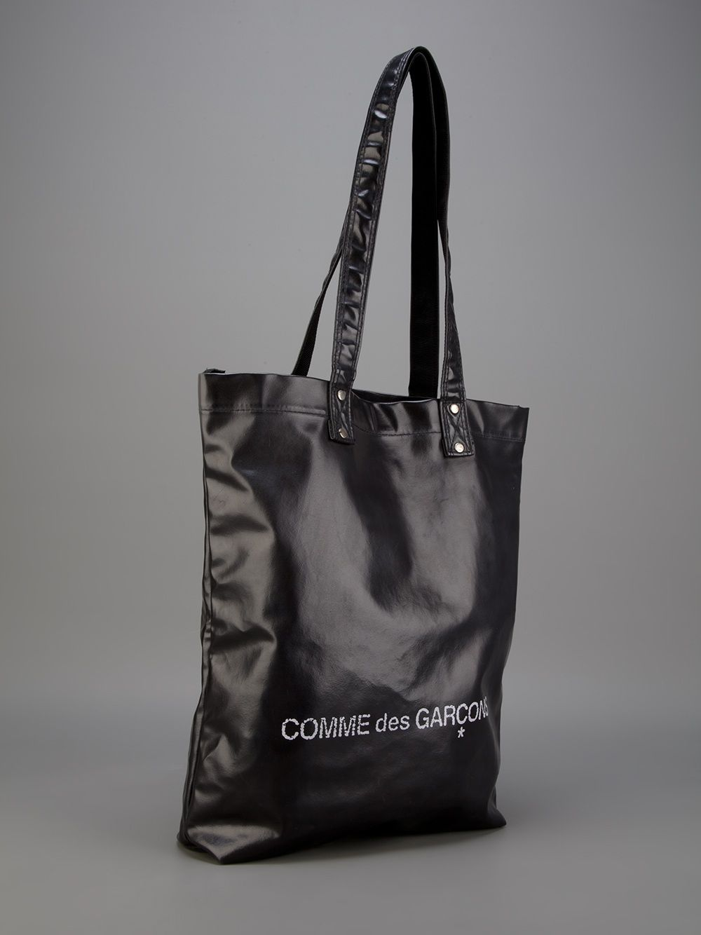 4de6a960ebe9 Comme des garçons Logo Tote Bag in Black for Men