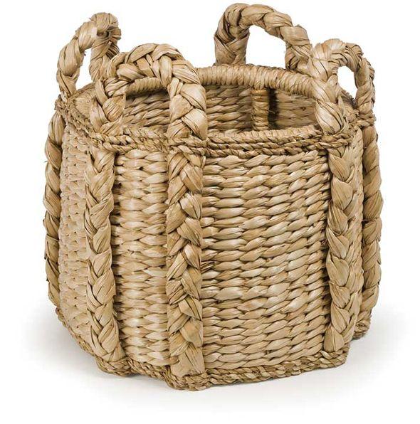 Palm Leaf Kindling Basket $185