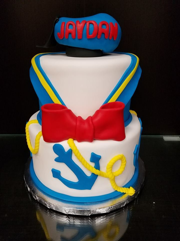 Donald duck theme cake themed cakes character cakes cake