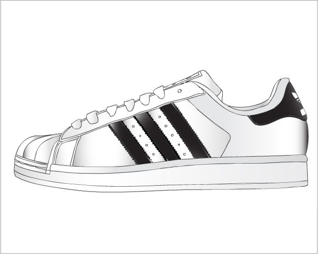 adidas superstar vector - Buscar con Google