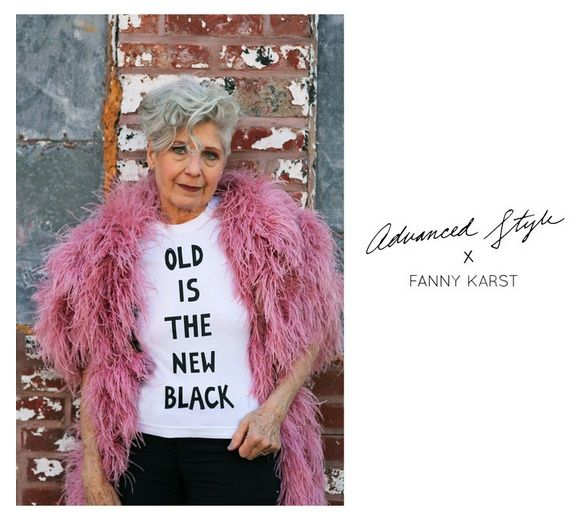 Old Is The New Black Fanny Karst Advanced Style T Shirt, Ari Setch Cohen And