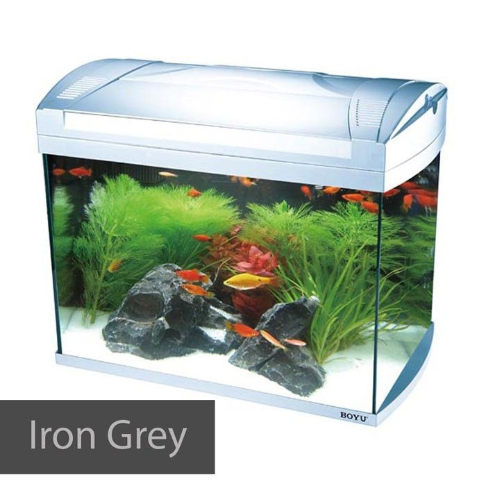 Hailea K60 Tank 60l Black Lamp Sets Fish Tank Cabinets Aquarium