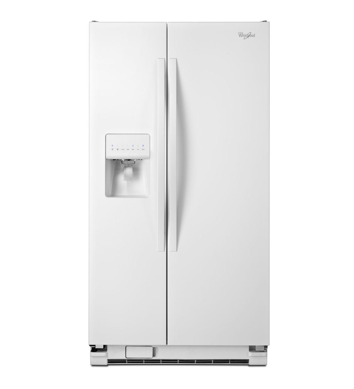 Best Standards Whirlpool White 36 Inch Wide Large Side By Side 400 x 300