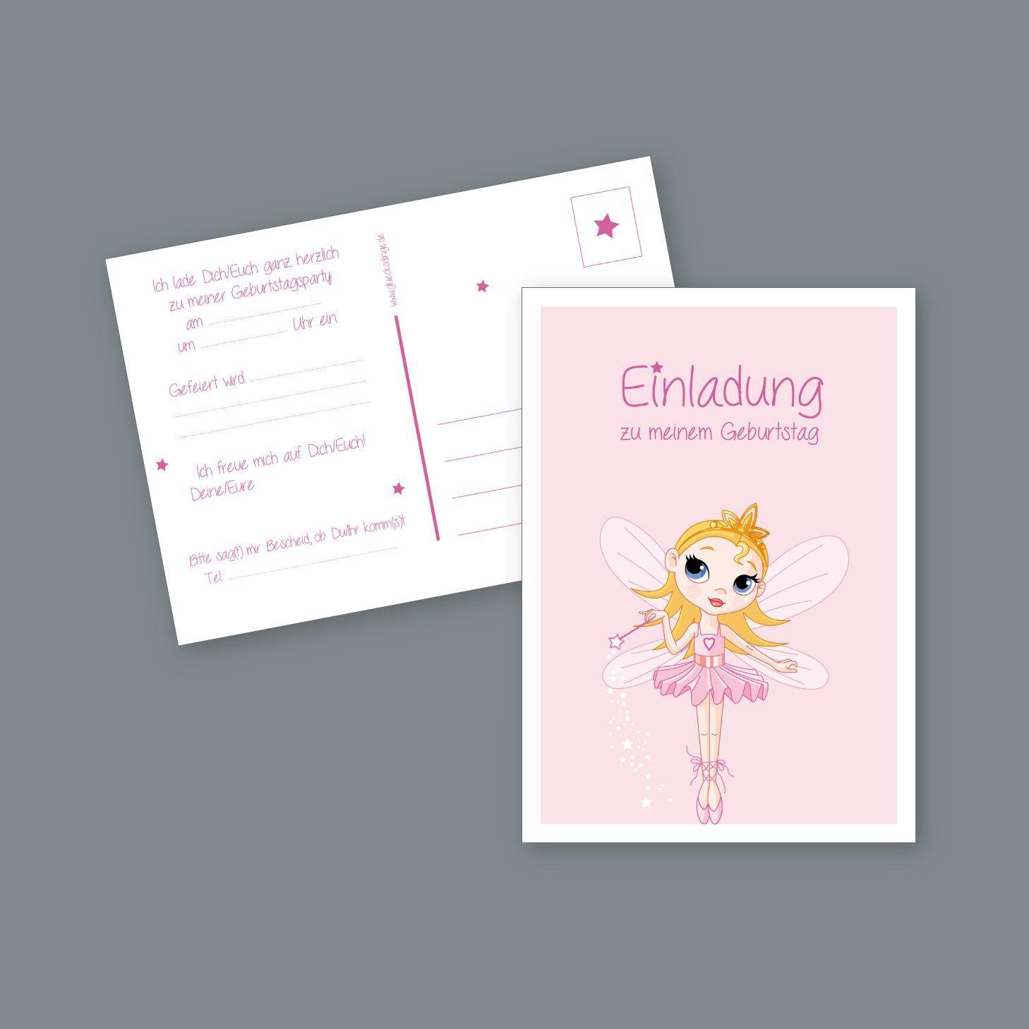 Einladungskarten Kinder Geburtstag Einladung Einladung