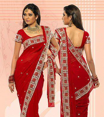 Vestidos elegantes hindu