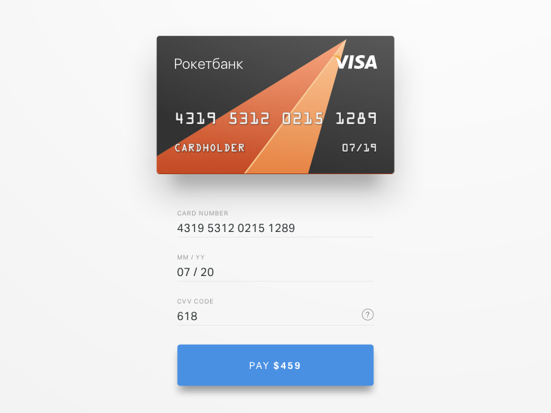 Credit Card Checkout  Ui Ux Mobile Ui And User Interface