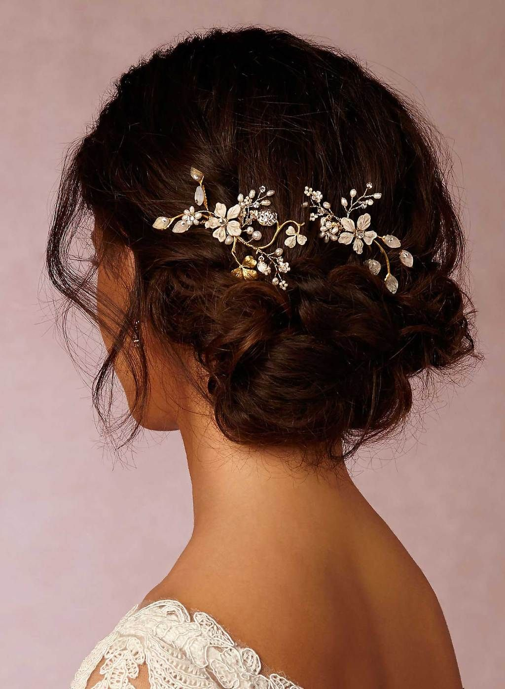winter garden hair combs - style #607 | wedding-hair | hair