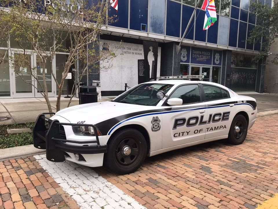 Tampa Florida City Of Tampa Police Department Dodge Charger Sedan Us Police Car Emergency Vehicles Police Cars
