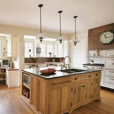 Modern Kitchen Old House anatomy of a modern vintage kitchen | custom cabinets, white oak