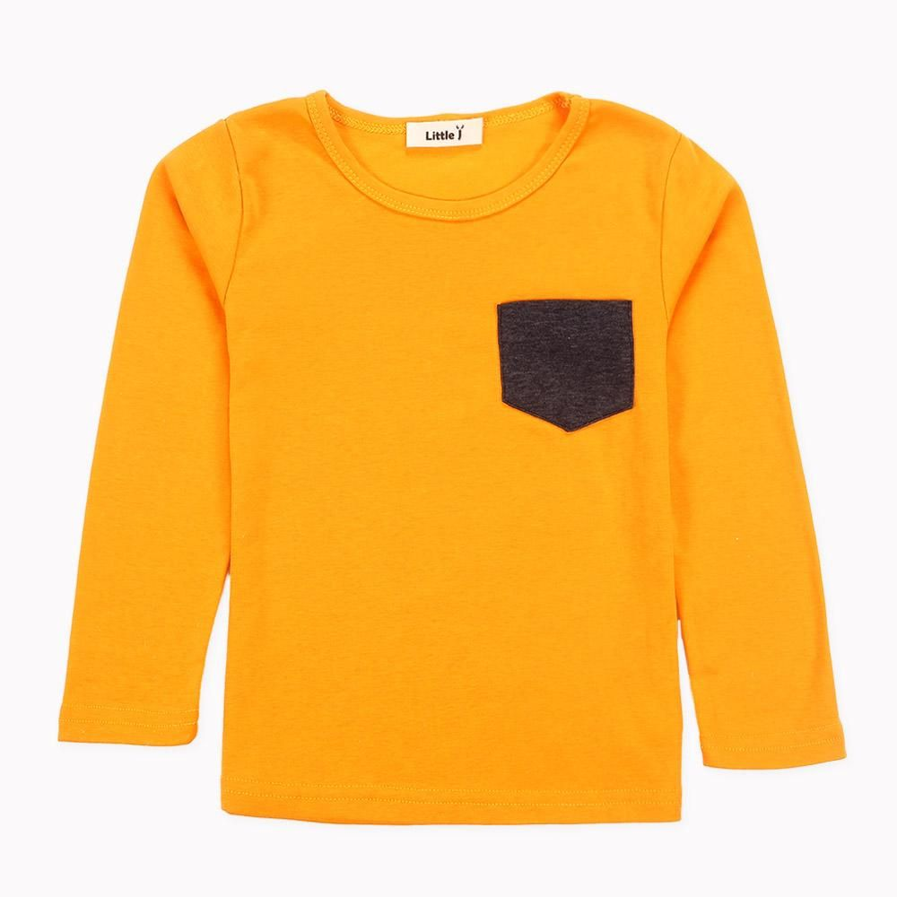 f791c119c Soft Solid Kids Boys T Shirt Candy Color Long Sleeve Baby Girls T-Shirts  Cotton Children's T-Shirt O-Neck Tee Tops Boy Clothes