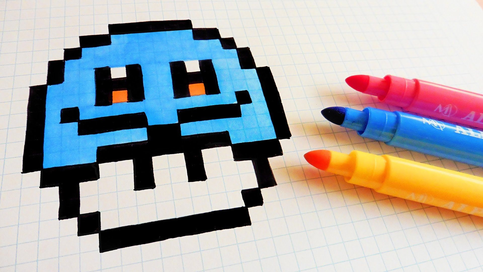 pixel art champignon