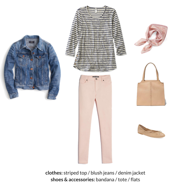 The Stay At Home Mom Capsule Wardrobe - Spring 2018 - Outfit 1