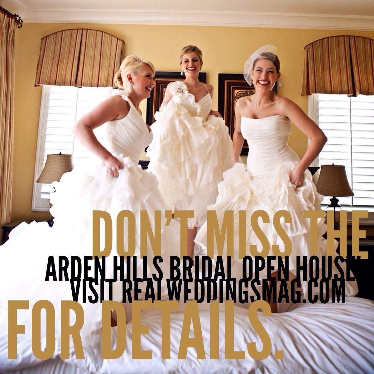Sacramento Wedding Event: Join Us For The Arden Hills