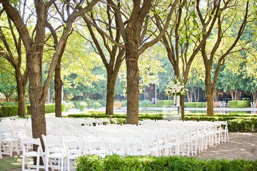 Outdoor Reception Venues Dallas Simple Park Setting