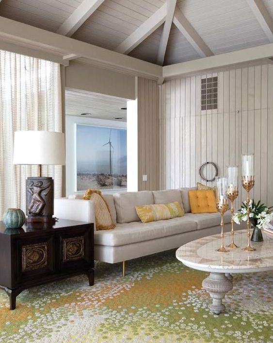 Abernathy House darren brown abernathy house palm springs | interiors : living