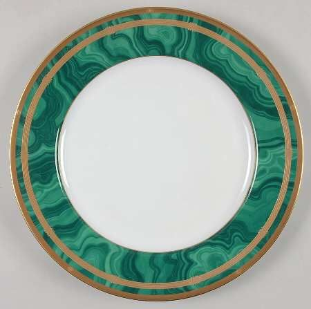 these are fabulous--vintage christian dior malachite pattern