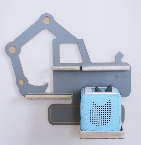 BOARTI Bagger small, grau- das Regal für die Musikbox