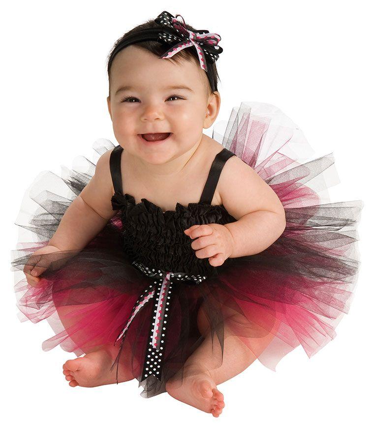 Black And Pink Tutu Baby Costume - Baby Ballerina Costumes  sc 1 st  Pinterest & Black And Pink Tutu Baby Costume - Baby Ballerina Costumes | Kid ...