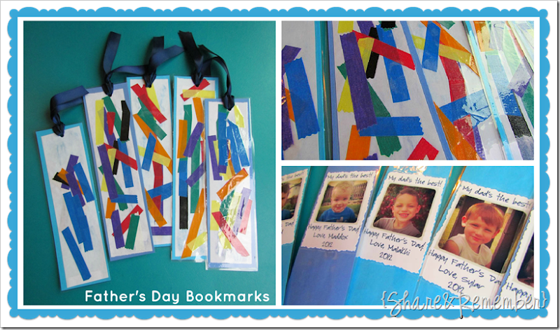 Father's Day Cards Preschool collage 2 | Father's Day gift