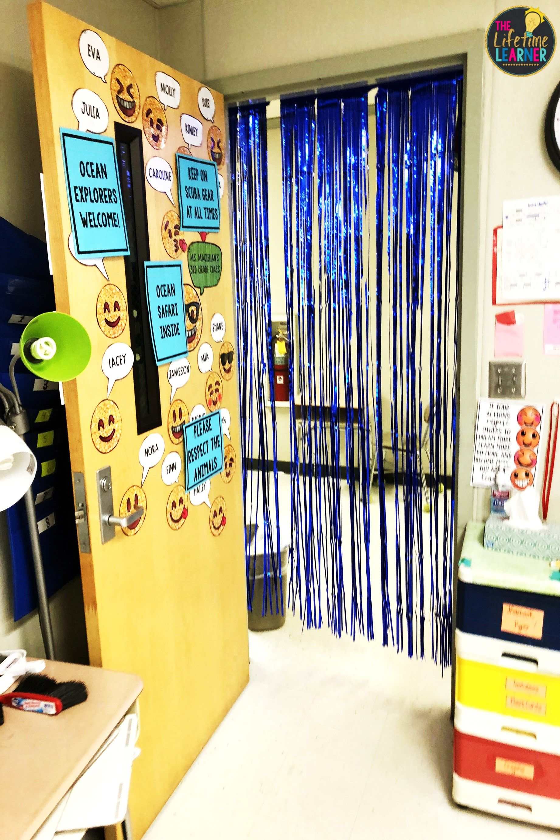 Under The Sea Classroom Transformation