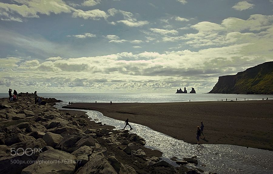 """The beach of the village Vik Iceland... Go to http://iBoatCity.com and use code PINTEREST for free shipping on your first order! (Lower 48 USA Only). Sign up for our email newsletter to get your free guide: """"Boat Buyer's Guide for Beginners."""""""