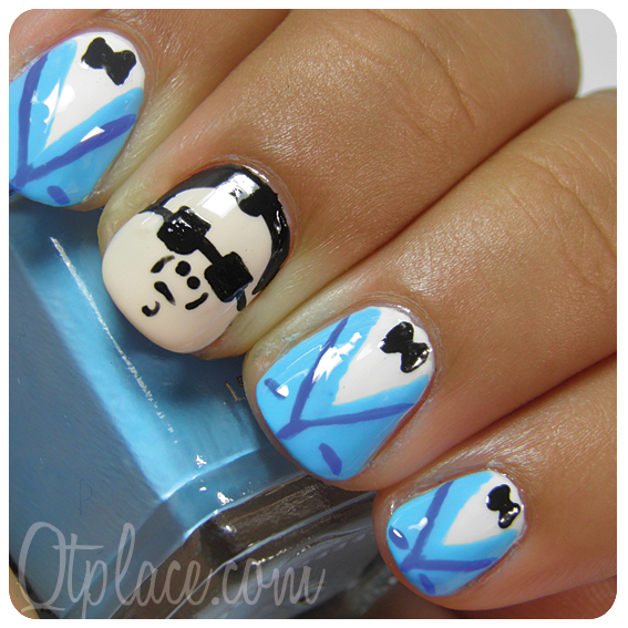 Gangnam Style Nail Art Plus Video Tutorialthis Cracks Me Up Kasia