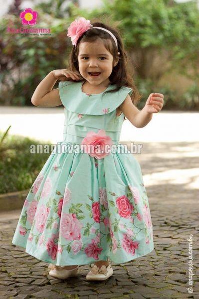 9e1faacea0 vestido infantil de tricoline