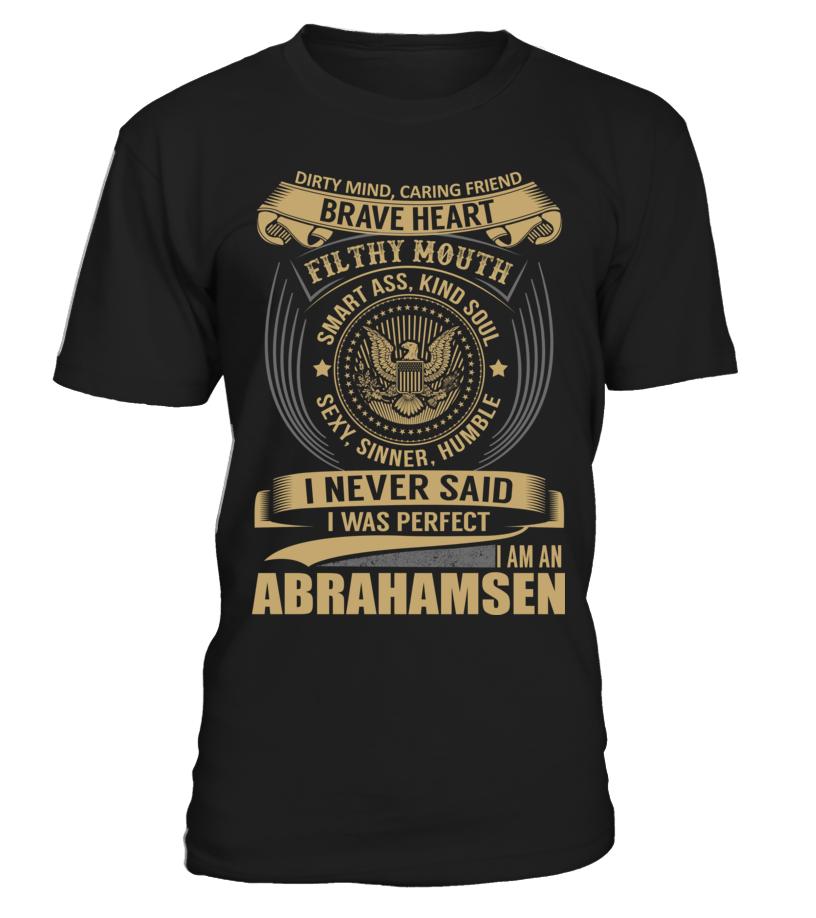ABRAHAMSEN - I Nerver Said