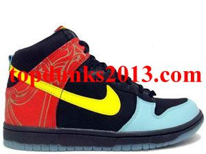 free shipping 676cc 3ef79 Low Price Major Taylor Pack BLACK Red Premium High Top Nike Dunk Up To 52%
