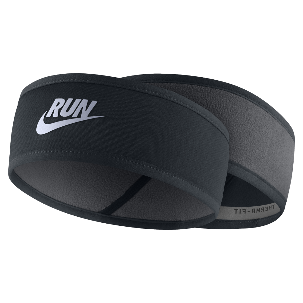 22fe0657 Nike Reversible Men's Running Headband (Black) | For Him | Running ...