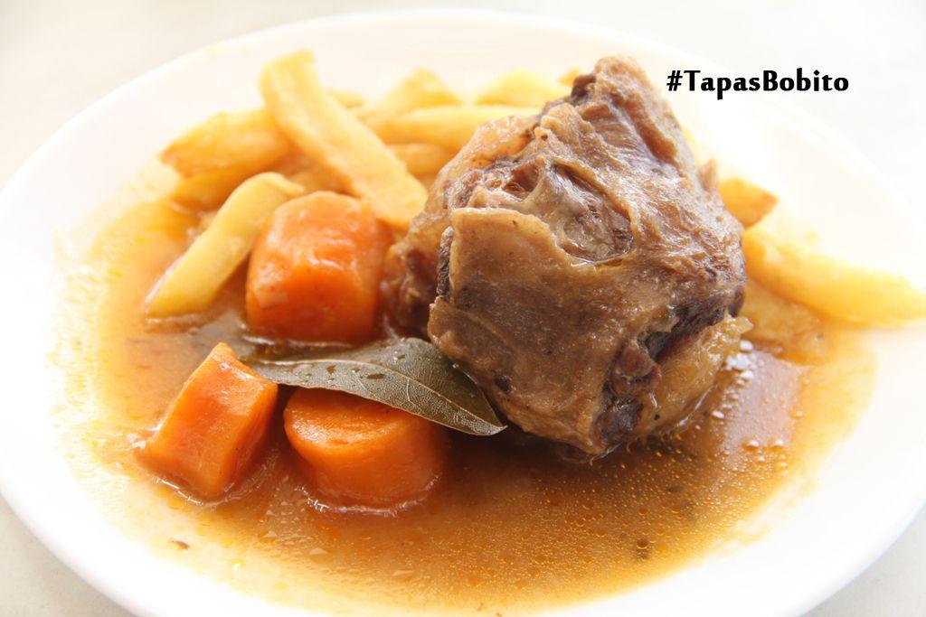 Cola de toro por #TapasBobito de la Ruta #SaboreaValencina