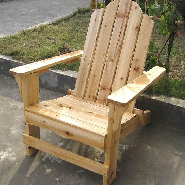 Sillas playeras diferentes medidas sillas pinterest for Sillas de madera rusticas