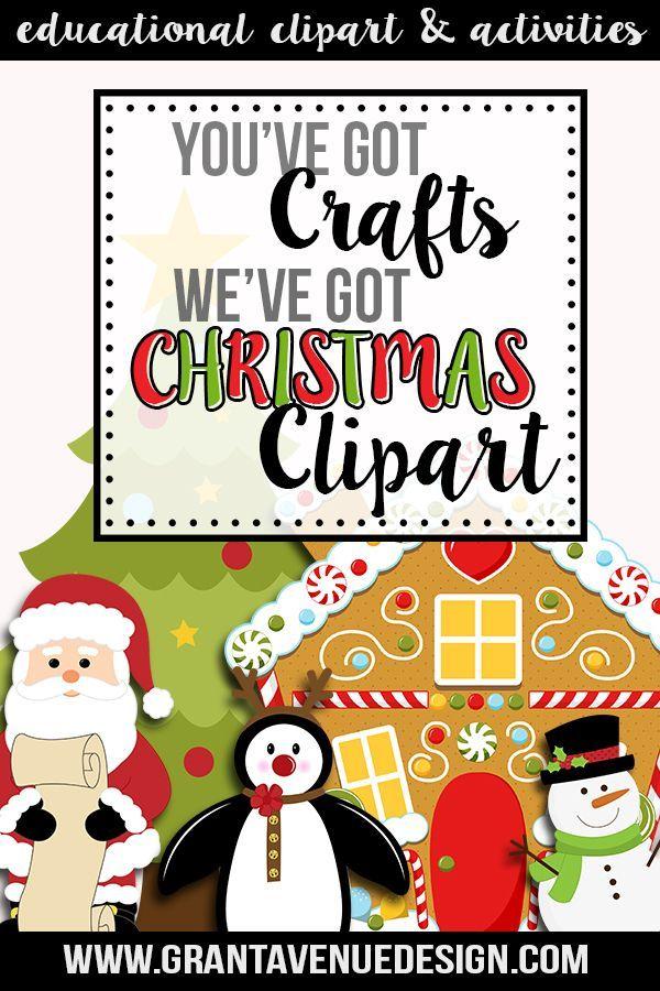 cute christmas clipart for teachers scra grant avenue holiday rh pinterest co uk Cute Clip Art for Teachers Cute Clip Art for Teachers