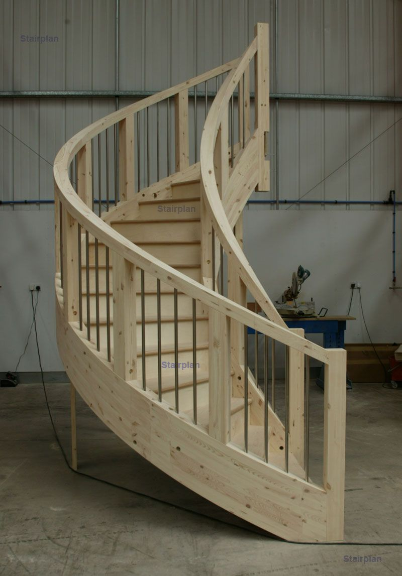 Best Curcular Staircase Designs Curved Stair Strings Cabinets 640 x 480