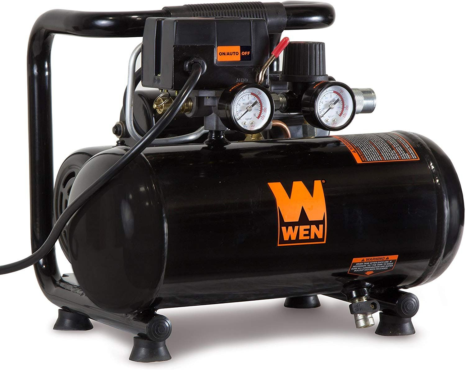WEN 2281 1Gallon OilFree Horizontal Portable Air