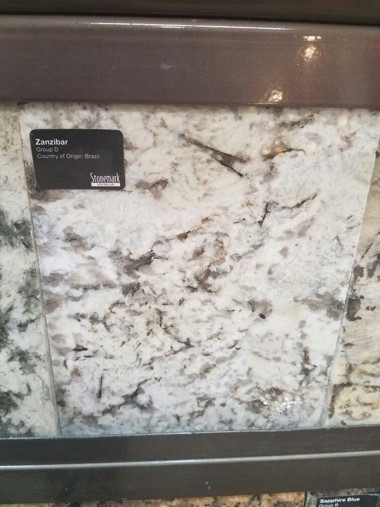 Zanzibar granite from Home depot  Kitchen Granite  Granite kitchen Granite Countertops