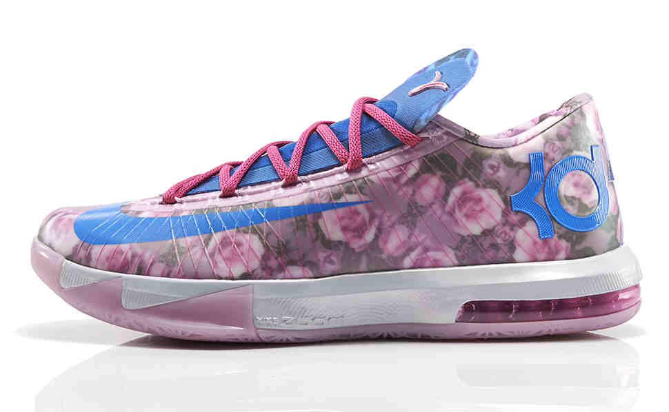 Nike Roses shoes by Kevin Durant.