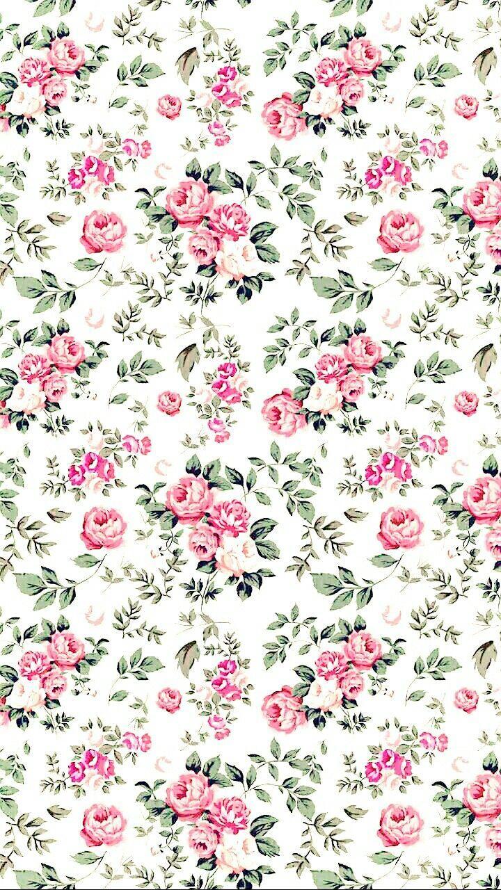 Background Nature Flowers Green Pink Pattern Iphonewallpaper Iphone Wallpaper An Vintage Flowers Wallpaper Flower Background Iphone Flower Backgrounds