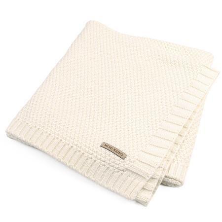 100 Organic Cotton Knitted Baby Blanket Soft Baby Blankets Stroller Blanket Newborn Swaddle