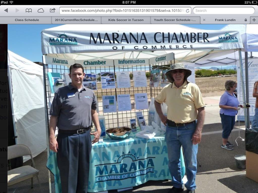 Marana Chamber — with Frank Lundin and Ed Stolmaker