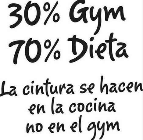 Un cuerpo sano no se hace en el gimnasio, se tiene en la cocina http://bit.ly/ComOrganica
