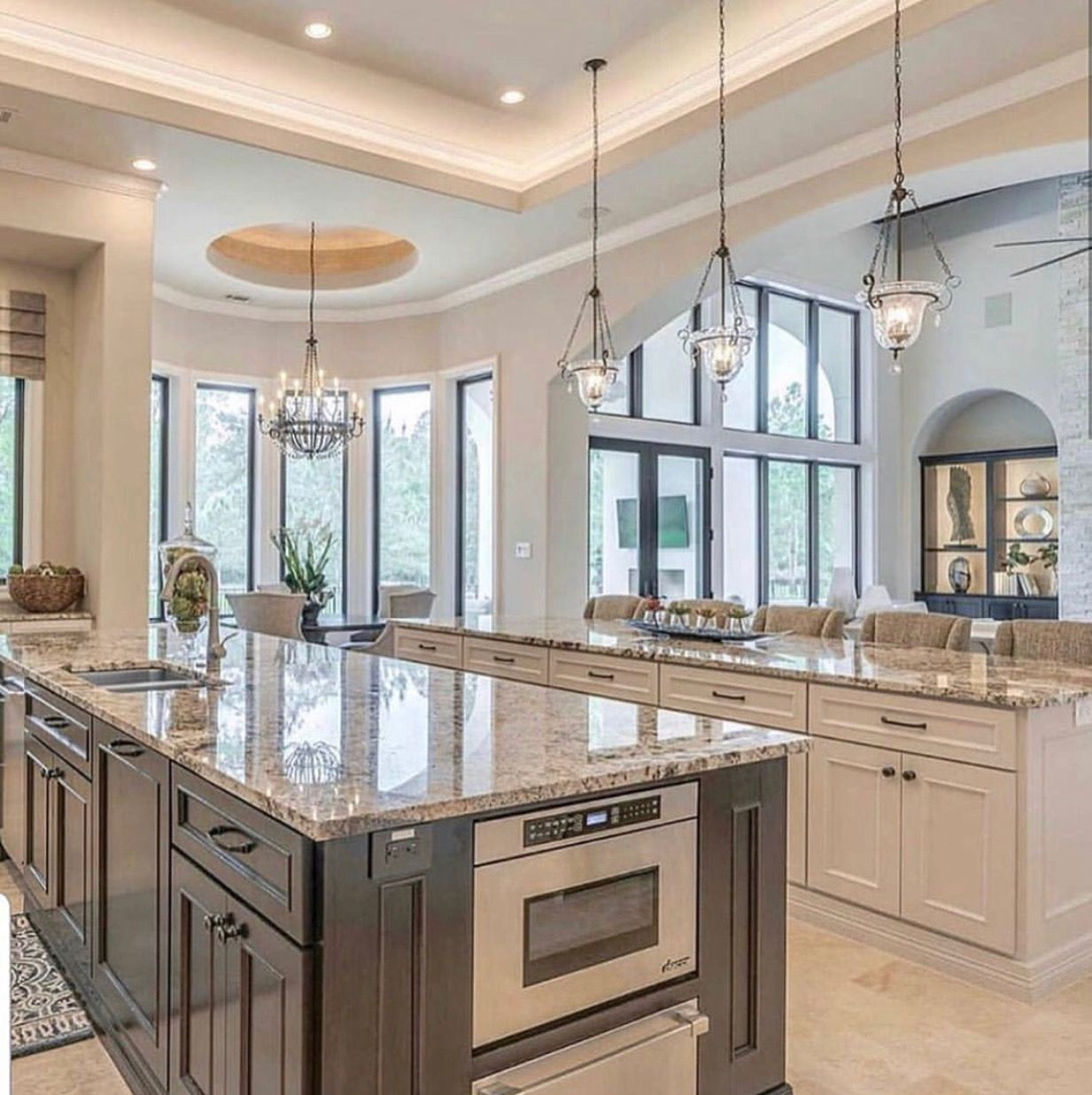 pin by gregg torrey on kitchen kitchen design open kitchen layout kitchen remodel layout on kitchen remodel with island open concept id=97340