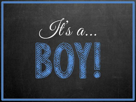 Chalkboard Pregnancy Announcement Photo Prop Im Going To Be A Big - Boy announcement